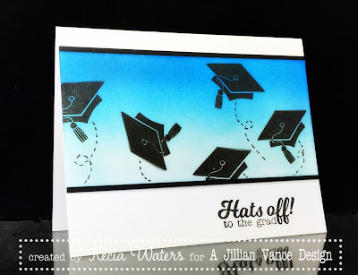 AJVD, Kecia Waters, Distress Inks, Graduation