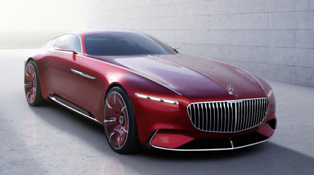 2018 Vision Mercedes Maybach 6 Electric Excess