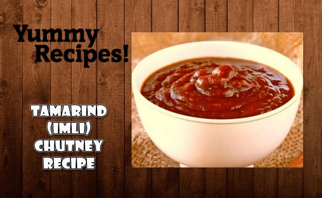 Imli Meethi Chutney Recipe - Tamarind Chutney Recipe