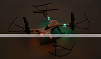JJRC H31 quadcopter Back Leds