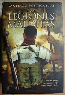 Portada del libro Las legiones malditas, de Santiago Posteguillo