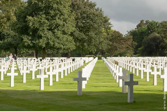 Cementerio Americano Omaha Beach viaje Normandía