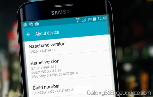 Galaxy S6 Edge Stock Firmware (Latest OTA Updates