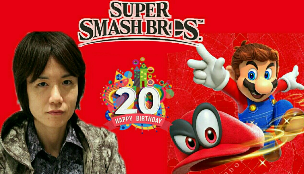 Super Smash Bros. celebrates 20th birthday with Masahiro Sakurai shared his regards