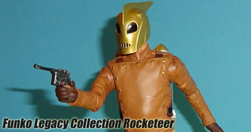 Funko - Legacy Collection - The Rocketeer 6 inch-es akciófigura bemutató