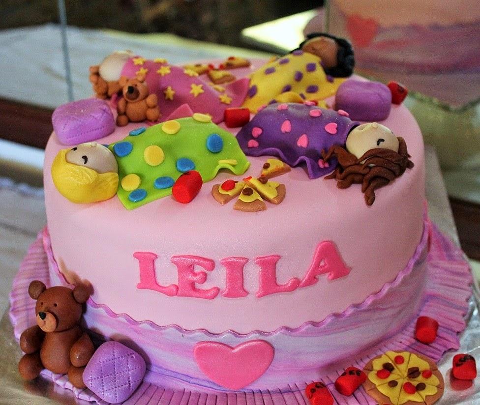 Delana's Cakes: Slumber Party Cake