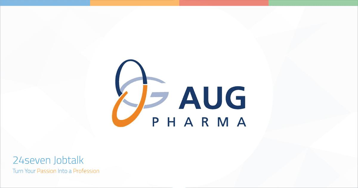 Jobs and Careers at AUG Pharma