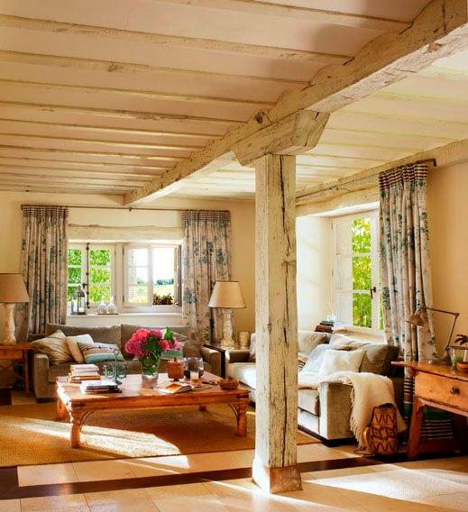 Disenyoss decoracion vigas de madera - Vigas de decoracion ...
