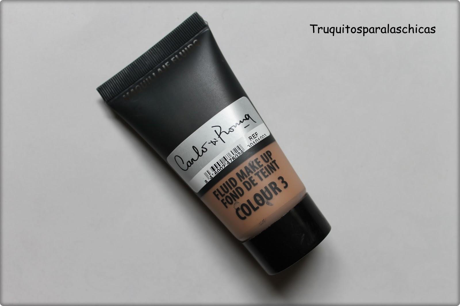 base de maquillaje carlo di roma