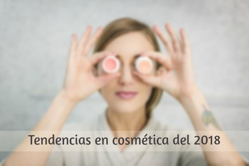 5 tendencias en cosmética del 2018