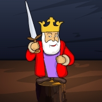 Play GenieFunGames Genie Cursed King Escape