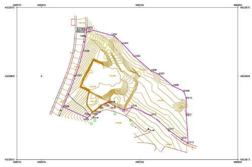 Certificación de Superficies Levantamiento topografico