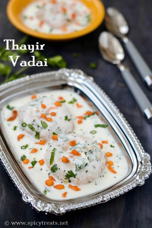 Thayir Vadai Recipe