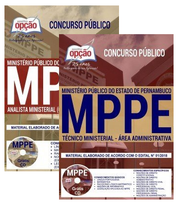 Apostila  ANALISTA MINISTERIAL do MPPE 2018