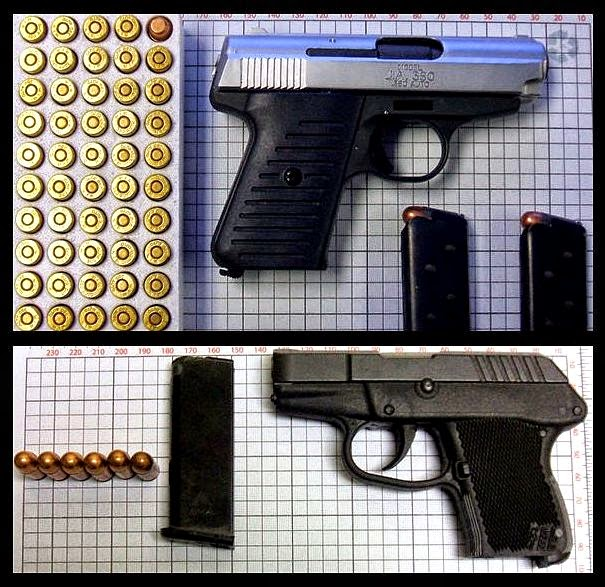 Firearms Discovered at GSP