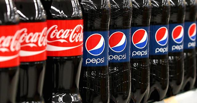 Compare Coca Cola and Pepsi companies.