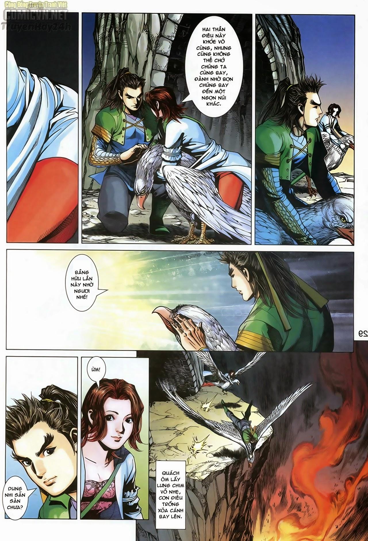 Anh Hùng Xạ Điêu anh hùng xạ đêu chap 69: hồn đoạn thiết chưởng phong trang 30