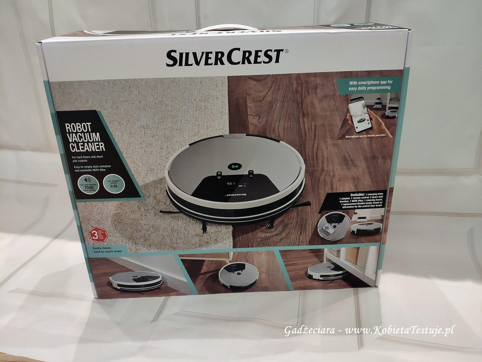 Odkurzacz automatyczny Silvercrest SSRA1 z Lidla