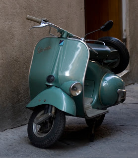 The Vespa began production in 1946