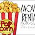 Movie Rental Gift Tag