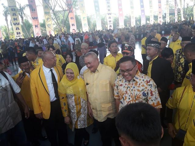 Gubernur Sumsel Ikuti Rangkaian HUT Muba Ke 61