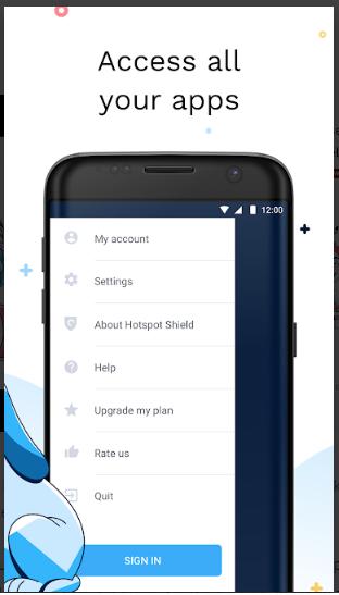 Aplikasi Bobol Internet Positif Hotspot Shiel Apk