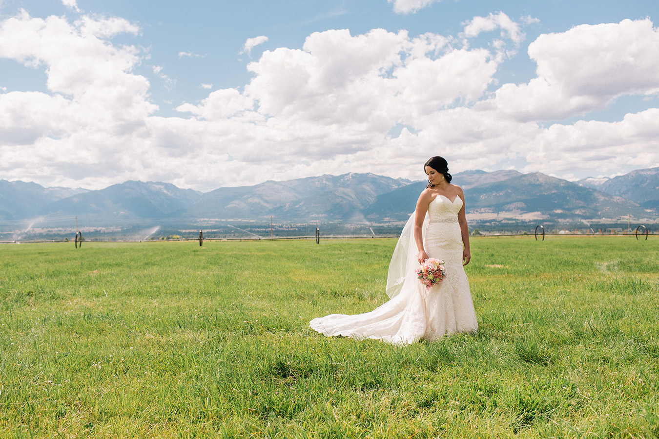 Bride, Montana, Mountains, Farm