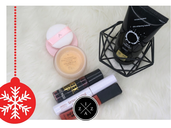 12 Days of Blogmas   Current Five Product Face Day 1