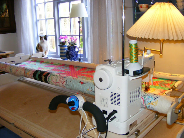 Machinequilter Line Dancing Best Quilting Frame For Domestic Sewing Machine