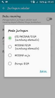 Fitur 4G Only Belum Ada Di Samsung J2