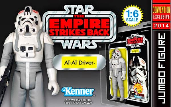 San Diego Comic-Con 2014 Exclusive AT-AT Driver 12 Inch Jumbo Vintage Kenner Star Wars Action Figure by Gentle Giant