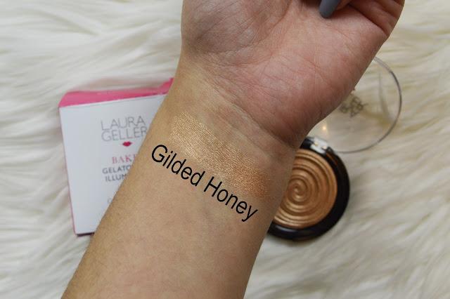 Laura Geller Gilded Honey Illuminator swatch