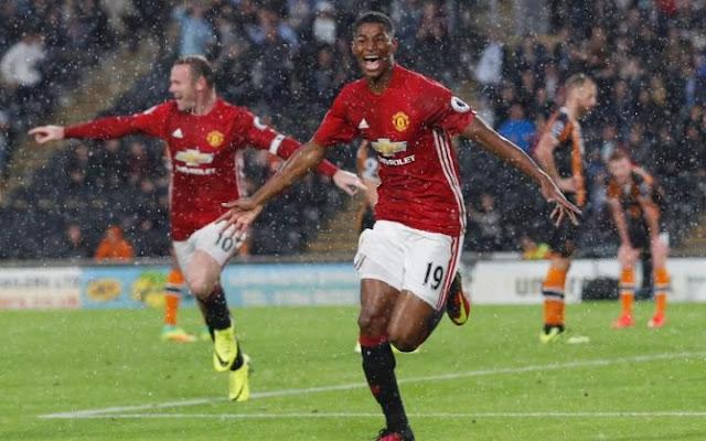 Gol Rashford di Injury Time Selamatkan Manchester United