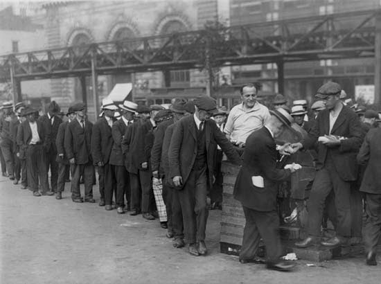 Crisis Pictures: The Great Depression of 1929
