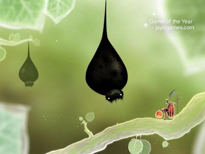 Tampilan game Botanicula