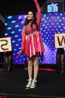 Sunny Leone Dancing on stage At Rogue Movie Audio Music Launch ~  231.JPG