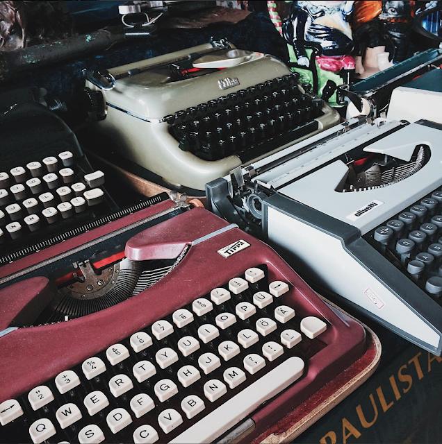 máquina de escrever tumblr