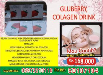 gluberry collagen drink mengencangkan payudara, gluberry 4jovem drink manfaat, gluberry meningkatkan elastisitas kulit, gluberry 4jovem bpom