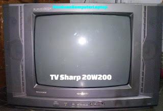 Kerusakan TV Sharp 20W200