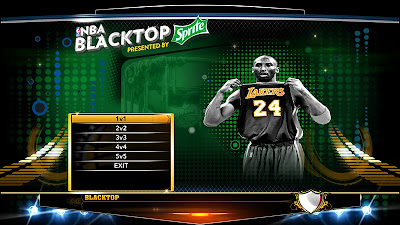 NBA 2K13 Kobe Bryant Blacktop Title Screen Mod
