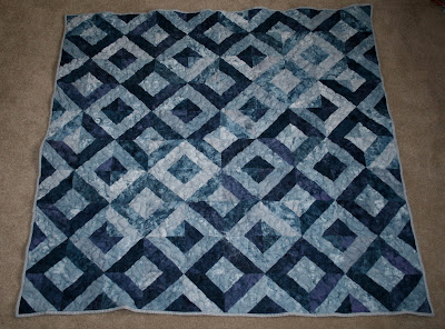 Jelly Roll garden trellis quilt top by fabricandflowers | Sonia Spence