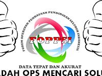 Wadah Forum Operator Sekolah  Di FOPPSI Tahun 2016