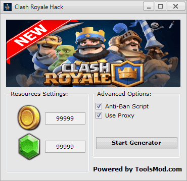 Clash Royale Cheat