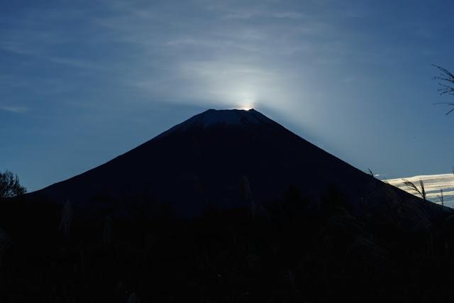 富士ヶ嶺(山梨)からの富士山