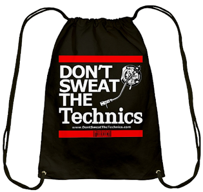 Dont Sweat The Technics Drawstring Bag