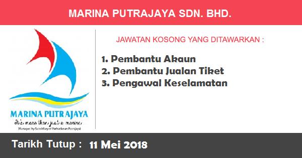 Jawatan Kosong di Marina Putrajaya Sdn. Bhd.