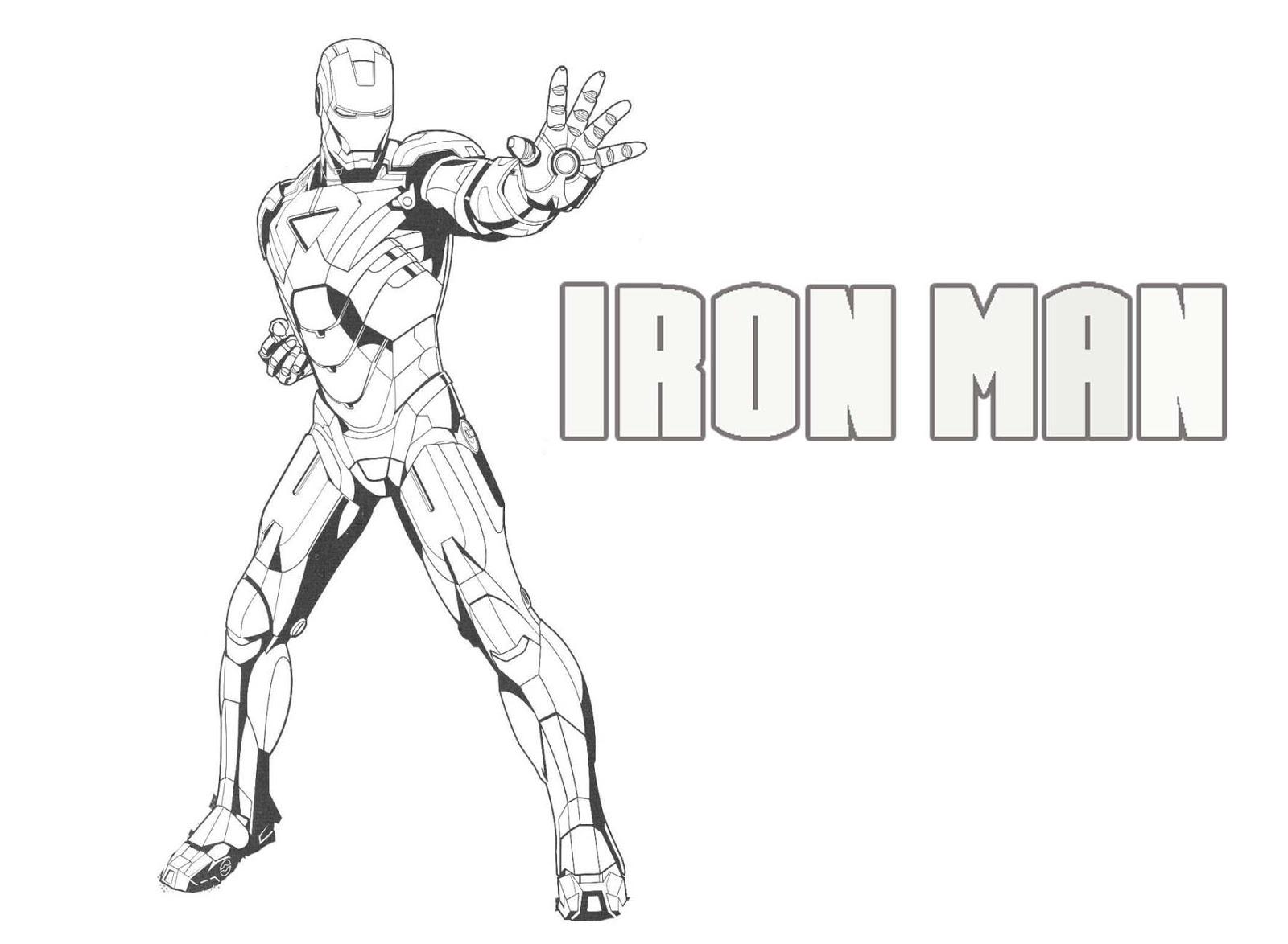 Kumpulan Sketsa Gambar Ironman