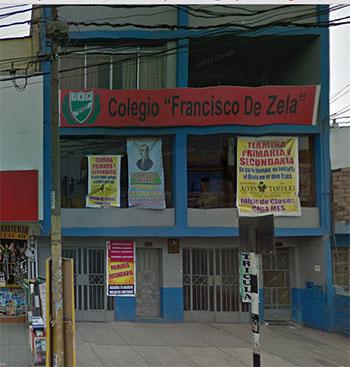 Colegio FRANCISCO DE ZELA - Comas