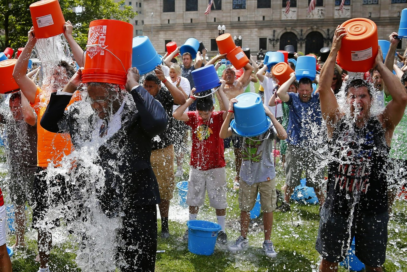Reasons for the Virality of Ice Bucket Challenge