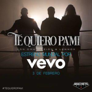 """Don Omar Estrena Video De """"Te Quiero Pa' Mi"""" Junto a Zion Y Lennox"""